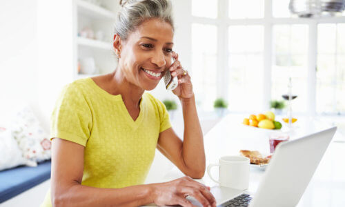 Woman Switching Health Cover