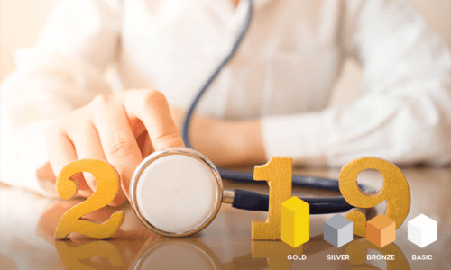 Gold product tier health insurance