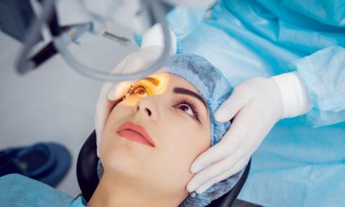 Health insurance for laser eye surgery